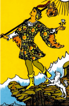 the fool major arcana
